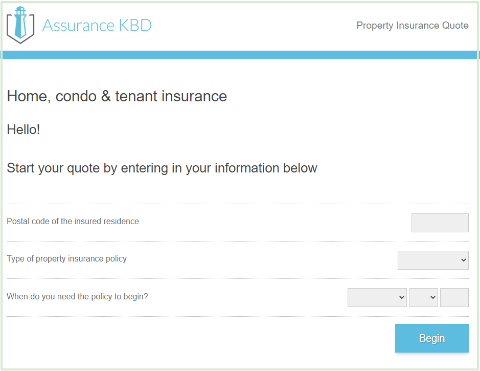 renters insurance online quote